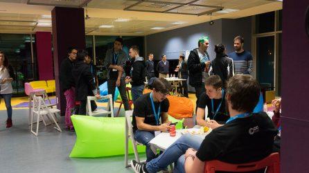Catering durante un hackathon - Hackathon Spain