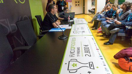 Entrega de premios en el hackathon Hack2Progress