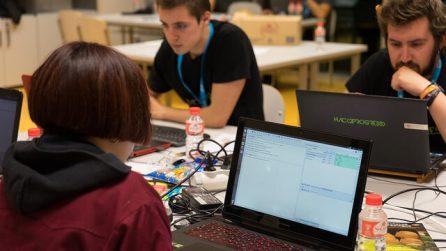 Participantes de un hackathon - Hackathon Spain